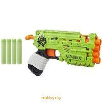 "Бластер НЁРФ Зомби Страйк ""Квадрот"" Hasbro Nerf E2673 - Minsktoys.by"
