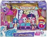 Набор мини-кукол Equestria Girls 'Кинотеатр' My Little Pony Hasbro C0409