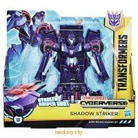 Трансформер ' Shadow Striker' Кибервселенная Hasbro Transformers E1910/E1886 icon | minsktoys.by